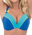 Curvy Kate Ocean Drive Padded Plunge Bikini Swim Top CS2451