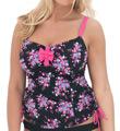Curvy Kate Moonflower Non Padded Tankini Swim Top CS2506