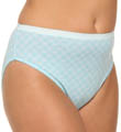 Just My Size Plus Size Cotton Hi Cut Panties - 5 Pack 1640