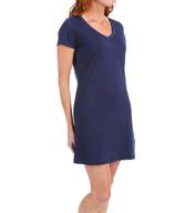 Jockey Cotton Short Sleeve V-Neck Sleepshirt 333443