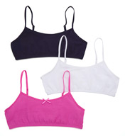 Maidenform Girl Value Crop Bras - 3 Pack H2563