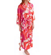 Natori Lucent Palms Printed Robe A74110