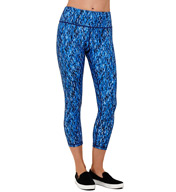 MSP by Miraclesuit Print Haven Reversible MIRASLIM Crop Pant 4097