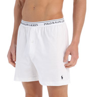 Polo Ralph Lauren Classic Fit 100% Cotton Knit Boxers - 3 Pack LCKB