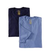 Polo Ralph Lauren Big Man 100% Cotton Crews - 2 Pack LXCN